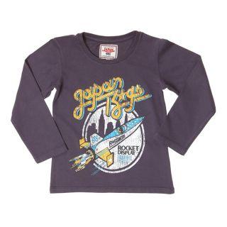 JAPAN RAGS T Shirt Garçon Prune.   Achat / Vente T SHIRT JAPAN RAGS T