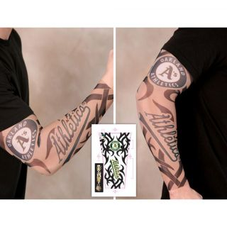 Anaheim Angels Tattoo Sleeves (Pack of 2)