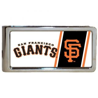 Simran San Francisco Giants Stainless Steel Money Clip