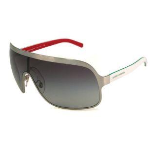 Dolce & Gabbana Womens DG2072 Shield Sunglasses