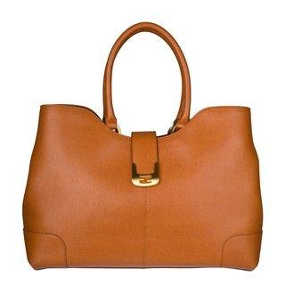 Fendi Chameleon Leather Shopper Bag