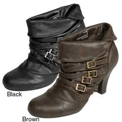Madden Girl by Steve Madden Womens Singsing Strappy Ankle Boots