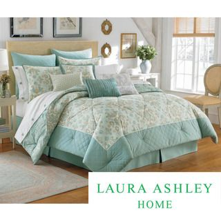 Laura Ashley Felicity 8 piece Bed in a Bag with Sheet Set