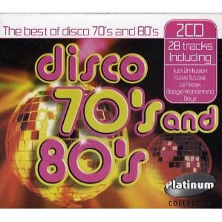 The Best Of Disco 70s & 80s   Achat CD COMPILATION pas cher