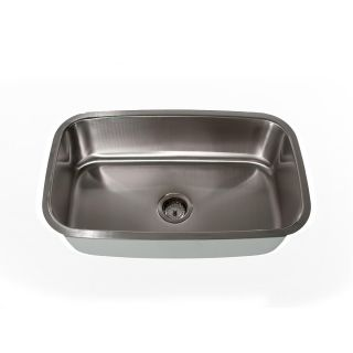 Highpoint Collection Stainless Steel Large Rectangle Single Bowl