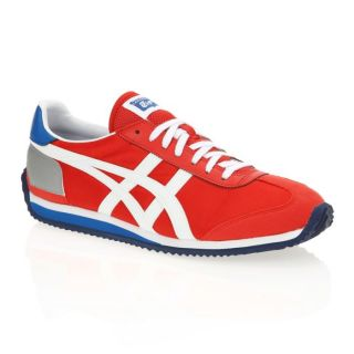 ONITSUKA TIGER Baskets California 78 Rouge, bleu, blanc et gris