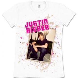Justin Bieber T Shirt Bench Juniors Tee White Xl Clothing