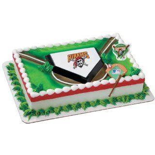 MLB Pittsburgh Pirates Cake Decorating Kit Sports