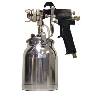 Black Bull Professional 1 quart Paint Spray Gun