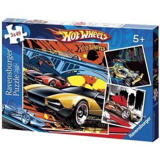 Puzzle 3x49 pièces   Hot Wheels   Achat / Vente PUZZLE Puzzle 3x49