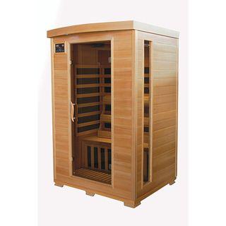 TheraPure 2 person Hemlock Carbon Heater Infrared Sauna