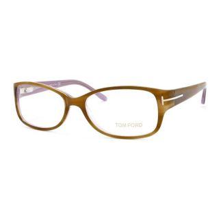 Tom Ford Womens Havana/Lilac Optical Eyeglasses