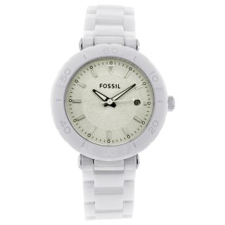 Fossil Womens Ceramic Watch