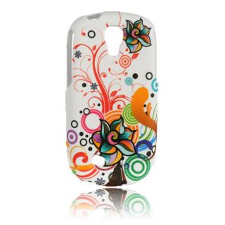 Luxmo Autumn Flower Rubber Coated Case for Samsung Gravity Smart