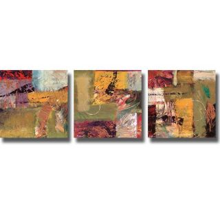 Bruce Marion Destinations I, III, & IV 3 piece Canvas Art Set