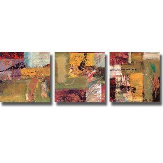 Bruce Marion Destinations I, III, & IV 3 piece Canvas Art Set