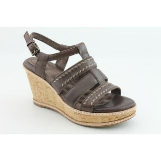 Softwalk Womens San Pedro Brown Sandals