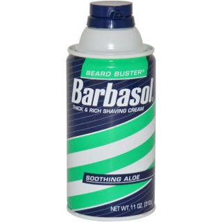 Barbasol Beard Buster Mens Soothing Aloe 11 ounce Shaving Cream
