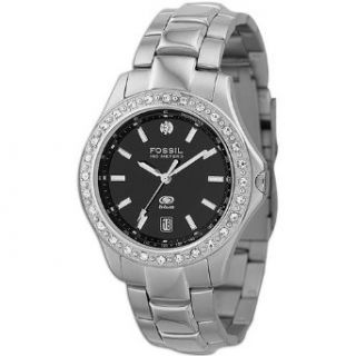 Fossil Mens Analog With Diamond Accent Watch ( sz. One