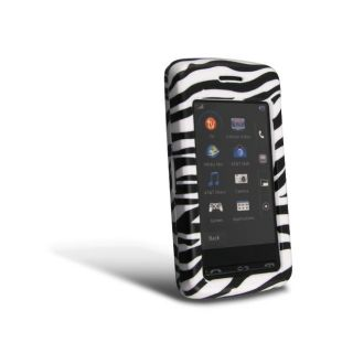 Eforcity White/ Black Zebra Snap on Case for LG VU CU915 / CU920