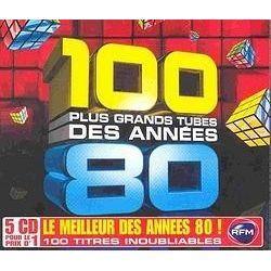 LES 100 PLUS GRANDS TUBES DES ANNEES 80 (Coffret 5   Achat CD