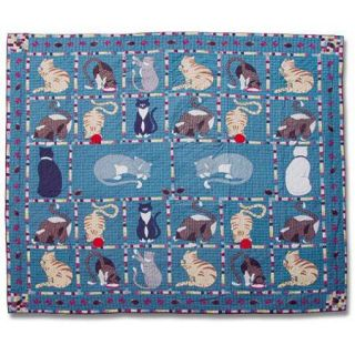 Kitty Cats Queen size Quilt