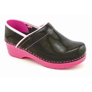 Sanita Womens Professional Xarea Patent Leather Casual Shoes