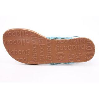 Billabong Womens Woven Through Time Blue Sandals