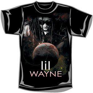 Rockabilia Lil Wayne Universal T shirt Small Clothing