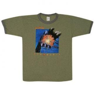 Def Leppard   Pyromania T Shirt Clothing