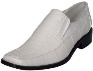 Genuine Leather Snake Slip On Designer Mens Dress Shoes 5241 Shoes