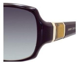 Jimmy Choo Saki Sunglasses Plum / Gray Gradient Aqua
