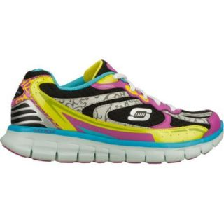 Womens Skechers Synergy Outfield Black/Multi
