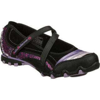 Girls Skechers Bella Ballerina Prima Prancy Black