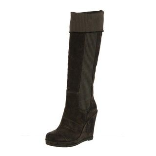 Fergie Womens Citizen Suede Leather Boots FINAL SALE