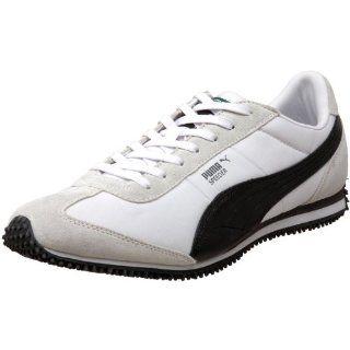 PUMA Mens Speeder RP Sneaker,White/Black/Steel Grey,8 D(M) US Shoes