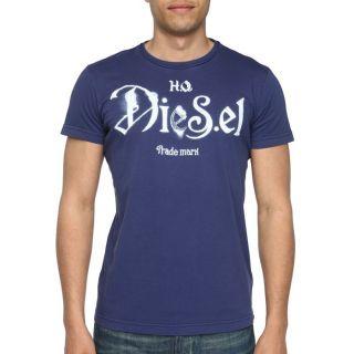 DIESEL T Shirt Ninao Homme Bleu   Achat / Vente T SHIRT DIESEL T Shirt