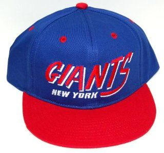 Vintage New York Giants Flatbill Snapback Cap Hat Sports