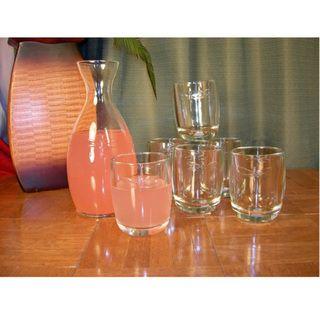 La Rochere Dragonfly 7 piece Juice Glass/ Carafe Set