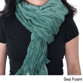 BrianneFaye Ombre Hand dyed Crinkle Scarf