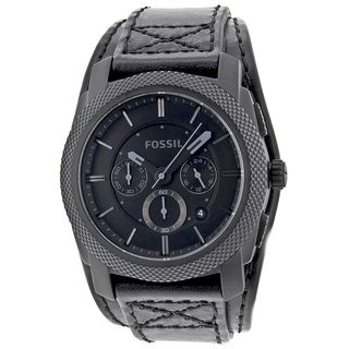Fossil Mens Chronograph Double Padded Blackout Dial Watch