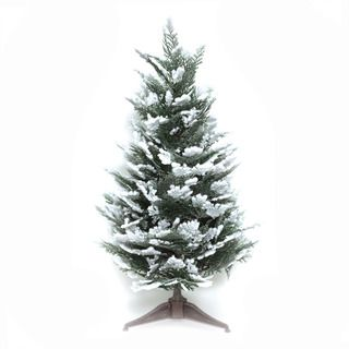 Good Tidings Snow Cedar 23 inch Tabletop Seasonal Tree
