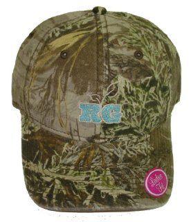Realtree Girl Camo Cap ~ Aqua Embroidered ~ Hunting Hat