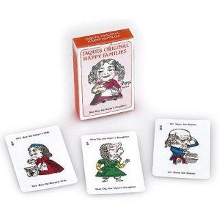 Jeu 52 cartes   Jacques Original  Happy families   Achat / Vente JEUX