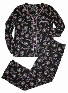 Disney Minnie Mouse Womens Cotton Knit Pajamas (L 12 14