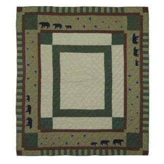 Patch Magic Bear Trail Queen size Quilt