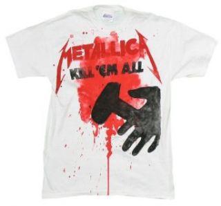 Metallica   Kill Em All Splatter T Shirt   Large Clothing