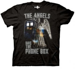 Doctor Who Weeping Angels Have the Phonebox T shirt