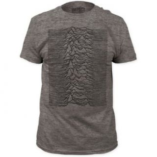 Joy Division   Mens Unknown Pleasures Fitted T Shirt in