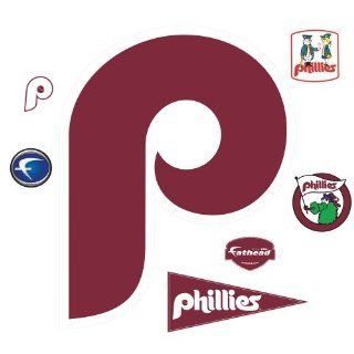 MLB Philadelphia Phillies Classic Logo Wall Decal Sports